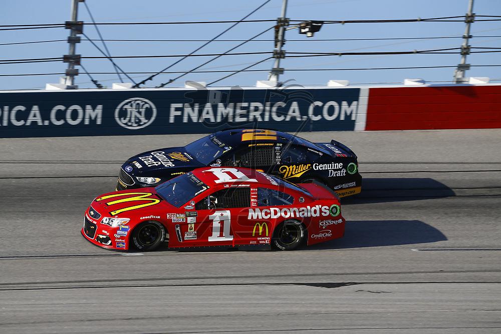 September 03, 2017 - Darlington, South Carolina, USA: Jamie McMurray (1) and Brad Keselowski (2)  battle for position during the Bojangles' Southern 500 at Darlington Raceway in Darlington, South Carolina.