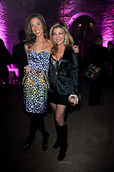 Left to right, HEATHER KERZNER and LISA TCHENGUIZ at the launch of 2 collections by jeweller Stephen Webster - ÔThe 7 Deadly SinsÕ and ÔNo RegretsÕ held at The Old Vics Tunnels, Under Waterloo Station, Off Leake Street, London SE1 on 8th December 2010.<br /> Left to right, HEATHER KERZNER and LISA TCHENGUIZ at the launch of 2 collections by jeweller Stephen Webster - 'The 7 Deadly Sins' and 'No Regrets' held at The Old Vics Tunnels, Under Waterloo Station, Off Leake Street, London SE1 on 8th December 2010.