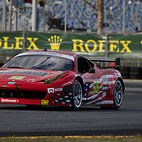 Team AF – Waltrip competing at the Rolex 24 at Daytona 2012