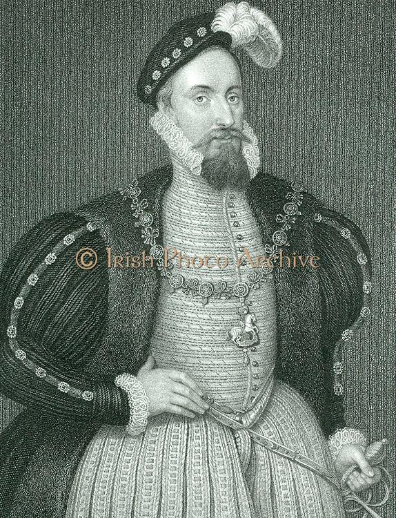 Henry Grey, Duke of Suffolk (d1554) English statesman. Father of Lady Jane Grey; executed for joining rising against the Spanish marriage of Mary I. Engraving.
