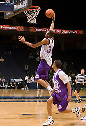 1/2G Nolan Dennis (North Richland Hills, TX / Richland).  The NBA Player's Association held their annual Top 100 basketball camp at the John Paul Jones Arena on the Grounds of the University of Virginia in Charlottesville, VA on June 20, 2008