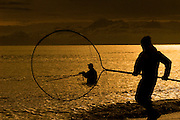 Dipnetting at the mouth of the Kenai River as it spills out into Cook Inlet.