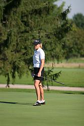 Cristie Kerr<br /> State Farm Classic, LPGA Event practice. The Rail golf course, Sherman IL.  Final tournament winner was Cristie Kerr.