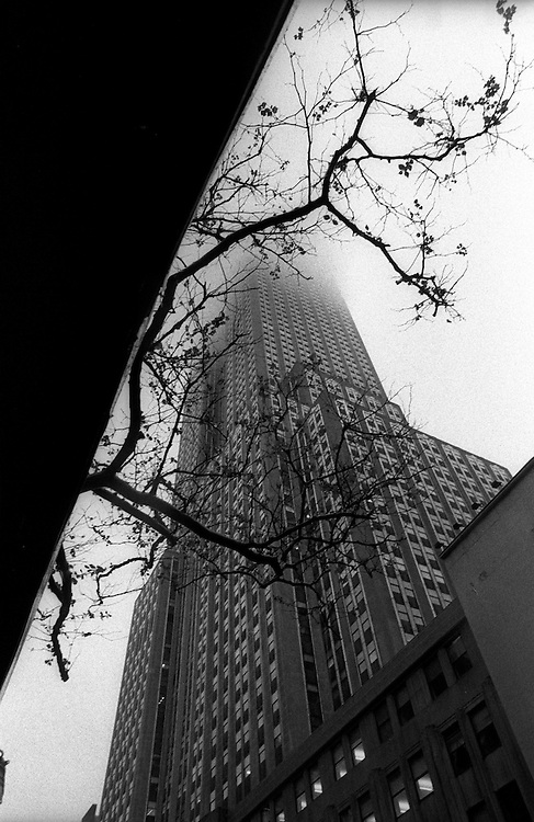 """Empire State Building...Part of long-term (2005-2008) story """"I See A Darkness"""". New York, NY."""