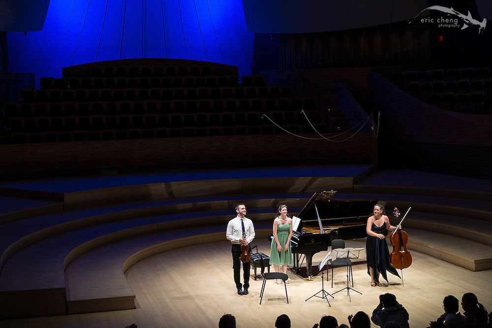 Trio Cleonice plays at the SLSQ Chamber Music Seminar 2014 International Showcase at Bing Concert Hall, Stanford University. #slsq2014