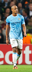 02.10.2013, Etihad Stadion, Manchester, ENG, UEFA Champions League, Manchester City vs FC Bayern Muenchen, Gruppe D, im Bild Manchester City's Yaya Toure looks dejected as Bayern Munich scores during the UEFA Champions League Group D match between Manchester City vs FC Bayern Munich at the Etihad Stadium, Manchester, Great Britain on 2013/10/02. EXPA Pictures © 2013, PhotoCredit: EXPA/ Propagandaphoto/ David Rawcliffe<br /> <br /> ***** ATTENTION - OUT OF ENG, GBR, UK *****