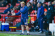 Bradford City Manager Stuart McCall  during the EFL Sky Bet League 1 match between Walsall and Bradford City at the Banks's Stadium, Walsall, England on 17 December 2016. Photo by Simon Davies.