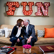 Jackie and Mike Bezos at the BFF HQ