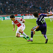 NLD/Amsterdam/20101123 - Ajax - Real Madrid, Marcelo (12) / Luis Suarez (16)