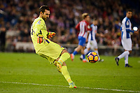 RCD Espanyol player Diego Lopez during match of La Liga between Atletico de Madrid and RCD Espanyol at Vicente Calderon Stadium in Madrid, Spain. December 03, 2016. (ALTERPHOTOS/BorjaB.Hojas)