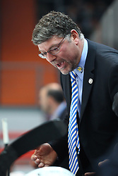 16.03.2011, Olympia Eisstadion, Muenchen, GER, DEL Pre-Playoff, EHC Muenchen vs Koelner Haie , im Bild Pat Cortina (Coach EHC)  , EXPA Pictures © 2011, PhotoCredit: EXPA/ nph/  Straubmeier       ****** out of GER / SWE / CRO  / BEL ******