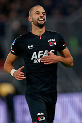 23-11-2019 NED: FC Utrecht - AZ Alkmaar, Utrecht<br /> Round 14 / Pantelis Hatzidiakos #3 of AZ Alkmaar