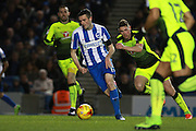 Brighton & Hove Albion winger Jamie Murphy during the EFL Sky Bet Championship match between Brighton and Hove Albion and Reading at the American Express Community Stadium, Brighton and Hove, England on 25 February 2017. Photo by Bennett Dean.
