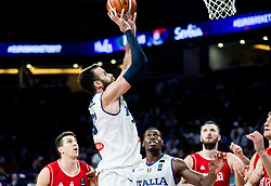 Luigi Datome of Italy during basketball match between National Teams of Italy and Serbia at Day 14 in Round of 16 of the FIBA EuroBasket 2017 at Sinan Erdem Dome in Istanbul, Turkey on September 13, 2017. Photo by Vid Ponikvar / Sportida