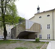 Aulatreppe Universität Salzburg, Max Reinhardt Platz, Salzburg.Architektur: one room huber / meinhart.