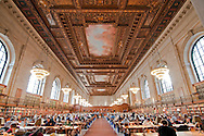 Rose reading room, New York Public Library, NYC, NY architect, Carrere & Hastings
