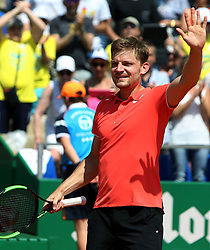 April 19, 2018 - Monaco - Le Belge David Goffin  (Credit Image: © Panoramic via ZUMA Press)