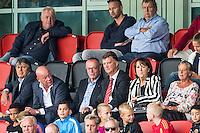 WIJDEWORMER - 03-09-2016, Jong AZ - Excelsior Maassluis, AFAS trainingscomplex, Louis van Gaal  en Frits Wester op de tribune.