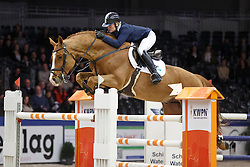 Kurten Jessica (IRL) - Arezzo VDL<br /> KWPN Stallion Selection - 's Hertogenbosch 2014<br /> © Dirk Caremans