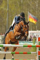 Springen, Catalux<br /> Bad Schwartau - Springturnier <br /> Grosser Preis von Bad Schwartau<br /> © www.sportfotos-lafrentz.de/Stefan Lafrentz