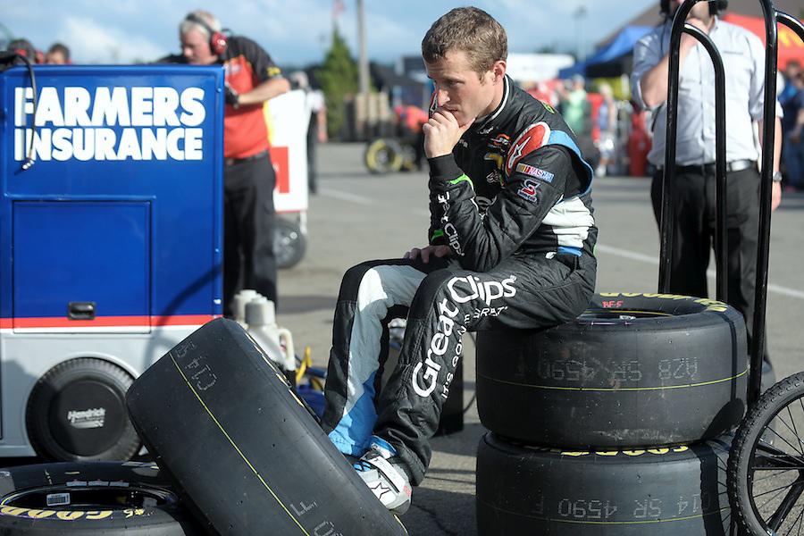 during the final practice for the Cheez It! 355 at Watkins Glen International in Watkins Glen, New York.