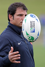 Auckland-Rugby, RWC, France training