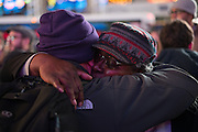 Dec. 3, 2014 - Manhattan, NY. Protestors took to Times Square to protest the two grand jury decisions not to indict police officers who killed unarmed black men while on the job . 12/3/14 Photograph by Julius Constantine Motal/NYCity Photo Wire