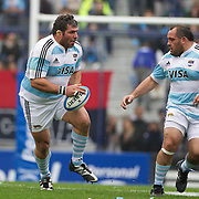 Martin Scelzo, Argentina, (left) and Rodrigo Roncero, Argentina, . in action during the Argentina V France test match at Estadio Jose Amalfitani, Buenos Aires,  Argentina. 26th June 2010. Photo Tim Clayton...