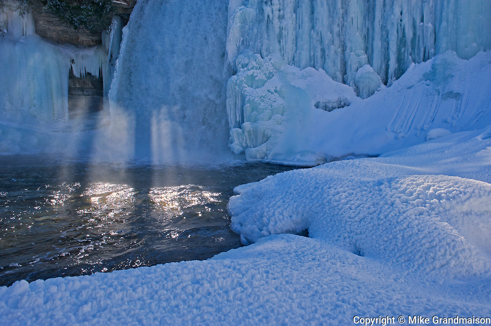 Bridal Veil Falls. Manitoulin Island. <br />Kagawong<br />Ontario<br />Canada