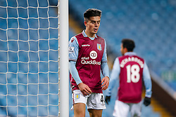 Jack Grealish of Aston Villa looks frustrated - Mandatory byline: Rogan Thomson/JMP - 19/01/2016 - FOOTBALL - Villa Park Stadium - Birmingham, England - Aston Villa v Wycombe Wanderers - FA Cup Third Round Replay.