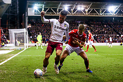 Jack Grealish of Aston Villa takes on Ryan Yates of Nottingham Forest - Mandatory by-line: Robbie Stephenson/JMP - 13/03/2019 - FOOTBALL - The City Ground - Nottingham, England - Nottingham Forest v Aston Villa - Sky Bet Championship