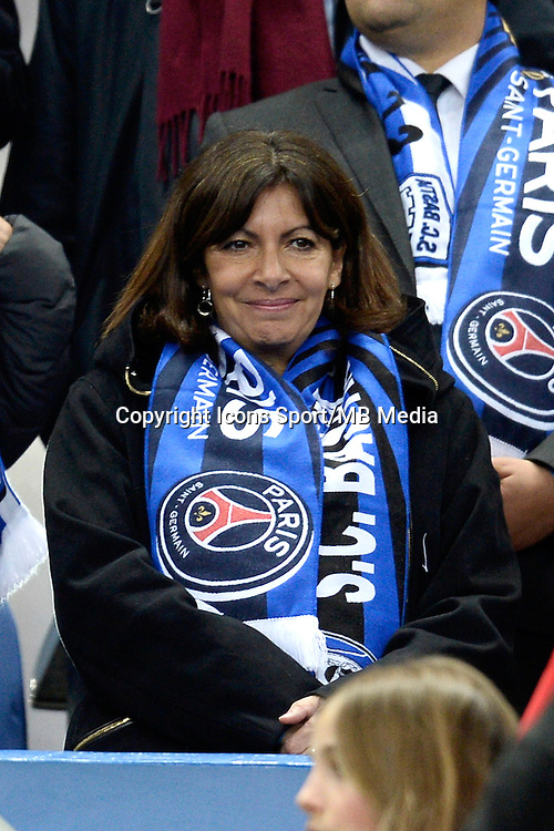 ANNE HIDALGO    - 11.04.2015 -  Bastia / PSG - Finale de la Coupe de la Ligue 2015<br />