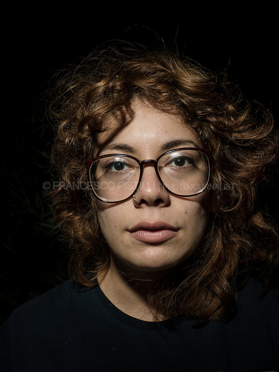Cansu. Age 23. TV camerawoman.<br /> <br /> &quot;I'm a professional camerawoman, I'm proud to be part of the movement's official TV: &quot;Gezi TV&quot; streaming, together with other professional volunteers&quot;.