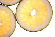 Grapefruit on white background - studio shot