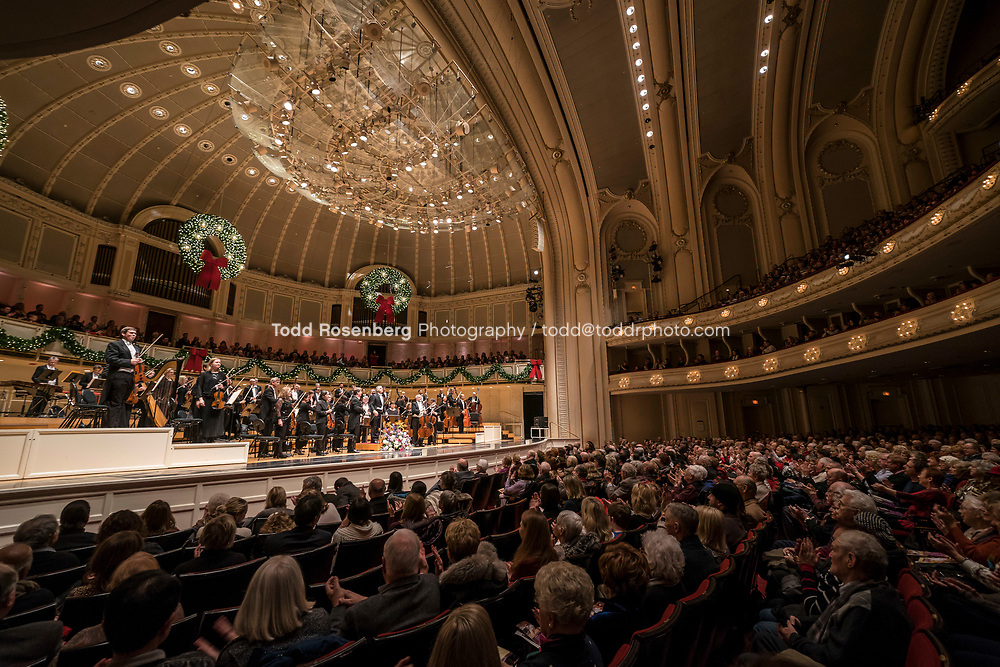 12/30/17 2:38:37 PM -- Chicago, IL, USA<br /> Attila Glatz Concert Productions' &quot;A Salute to Vienna&quot; at Orchestra Hall in Symphony Center. Featuring the Chicago Philharmonic <br /> <br /> &copy; Todd Rosenberg Photography 2017