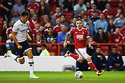Nottingham Forest midfielder Barry McKay (10) during the EFL Sky Bet Championship match between Nottingham Forest and Millwall at the City Ground, Nottingham, England on 4 August 2017. Photo by Jon Hobley.