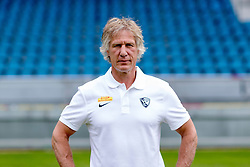 07.07.2015, Rewirpower Stadion, Bochum, GER, 2. FBL, VfL Bochum, Fototermin, im Bild Cheftrainer Gertjan Verbeek (Bochum) // during the official Team and Portrait Photoshoot of German 2nd Bundesliga Club VfL Bochum at the Rewirpower Stadion in Bochum, Germany on 2015/07/07. EXPA Pictures &copy; 2015, PhotoCredit: EXPA/ Eibner-Pressefoto/ Hommes<br /> <br /> *****ATTENTION - OUT of GER*****