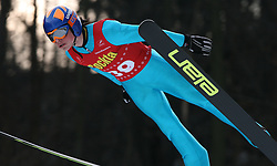 Tim Babnik of SSK Costella Ilirija at Slovenian National Championship in Ski Jumping on February 12, 2008 in Kranj, Slovenia . (Photo by Vid Ponikvar / Sportal Images).