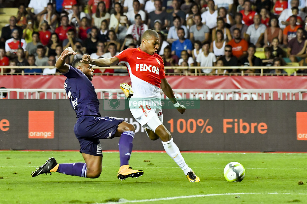 August 4, 2017 - Monaco, France - Kylian Mbappe Lottin  (Credit Image: © Panoramic via ZUMA Press)
