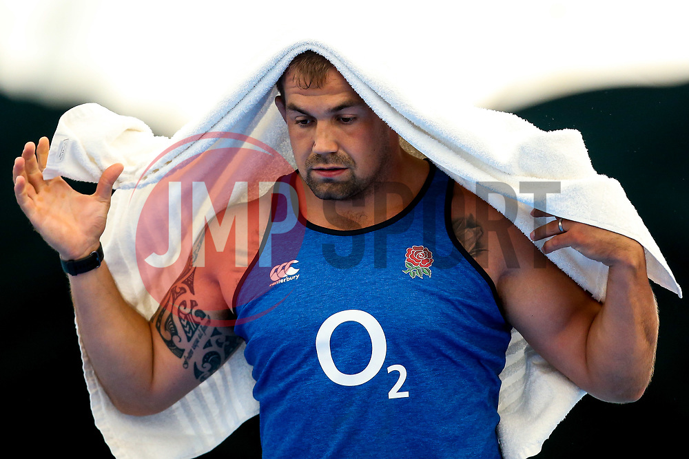 Ben Moon of England trains in the gym at Clifton College - Mandatory by-line: Robbie Stephenson/JMP - 15/07/2019 - RUGBY - England - England training session ahead of Rugby World Cup