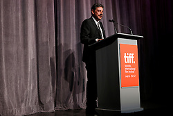 Director SERGIO CASTELITTO on stage prior to the 'Twice Born' premiere during the 2012 Toronto International Film Festival at Roy Thomson Halll, September 13th 2012.  Photo by David Tabor/ i-Images.
