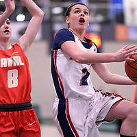 U Sports 2018 Women's National Basketball Championship on March  9 at the Centre for Kinesiology, Health and Sport Regina,Saskatchewan. Credit: Arthur Ward/Arthur Images