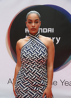 Jorja Smith at arrival boards