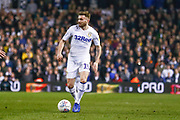 Leeds United midfielder Stuart Dallas (15) in action  during the EFL Sky Bet Championship match between Leeds United and West Bromwich Albion at Elland Road, Leeds, England on 1 March 2019.