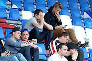01-05-2016 VOETBAL:WILLEM II - FEYENOORDTILBURG<br /> Niet alleen de spelers van Willem II realiseren zich dat het wellicht de nacompetitie in moet maar zeker ook bij de supporters van Willem II<br /> <br /> Foto: Geert van Erven