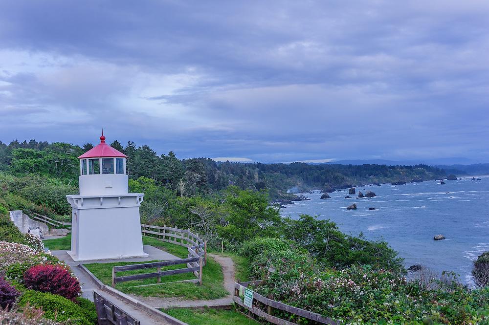 Trinidad Head Memorial Lighthouse, Trinidad, California