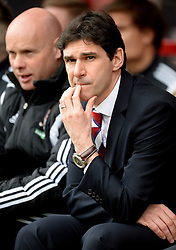 Middlesbrough Manager, Aitor Karanka  - Photo mandatory by-line: Alex James/JMP - Mobile: 07966 386802 - 21/03/2015 - SPORT - Football - Bouremouth - Goldsands Stadium - Bournemouth v Middlesbrough - Sky Bet Championship