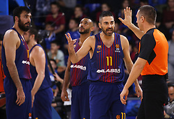 December 8, 2017 - Barcelona, Catalonia, Spain - Juan Carlos Navarro during the match between FC Barcelona v Fenerbahce corresponding to the week 11 of the basketball Euroleague, in Barcelona, on December 08, 2017. (Credit Image: © Urbanandsport/NurPhoto via ZUMA Press)