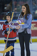 KELOWNA, CANADA - FEBRUARY 02:  Booster Juice at the Kelowna Rockets game on February 02, 2018 at Prospera Place in Kelowna, British Columbia, Canada.  (Photo By Cindy Rogers/Nyasa Photography,  *** Local Caption ***