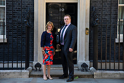 © Licensed to London News Pictures. 26/06/2018. London, UK. NFU President Minette Batters outside 10 Downing Street. Photo credit: Rob Pinney/LNP